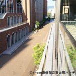 夏休み中の近畿大学