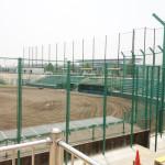 花園セントラルスタジアム改修工事中