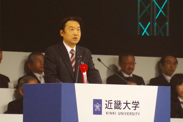 野田東大阪市長のあいさつ