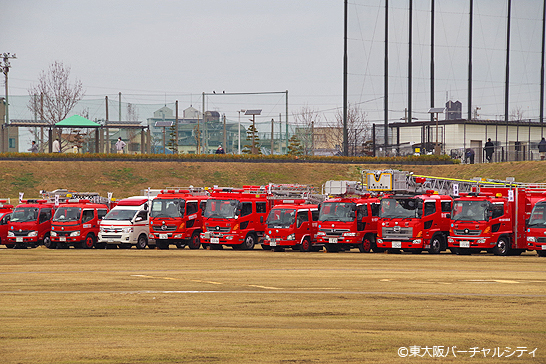 東大阪消防出初式