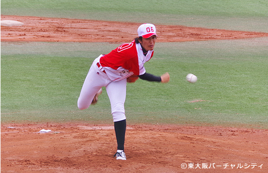 06BULLSの開幕投手は新入団の田中真澄