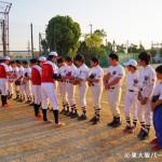 06BULLS 若江中学野球部訪問