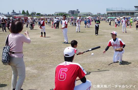 06BULLS子供野球教室