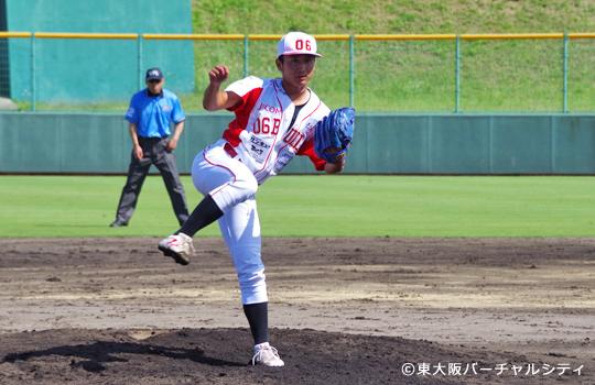 9回は今年の守護神、松尾。 最後の一球はもの凄い一球でした。
