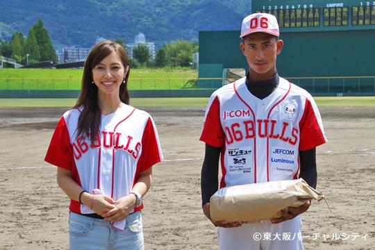東大阪バーチャルシティからアブドラ投手へ