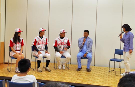06BULLSトークショー 8/2 大阪のプロスポーツチームが布施にやってくる!