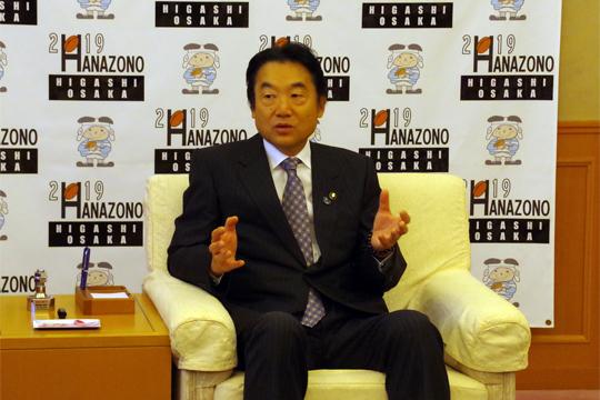 野田市長 06BULLS 市長表敬訪問 シーズン報告