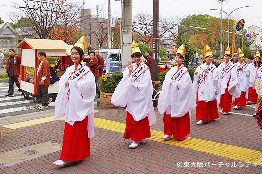 12/6 布施商店街 福娘パレード