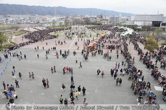 TAKENOKO!!!@東大阪市花園ラグビー場、きゃりーぱみゅぱみゅがやってきた!