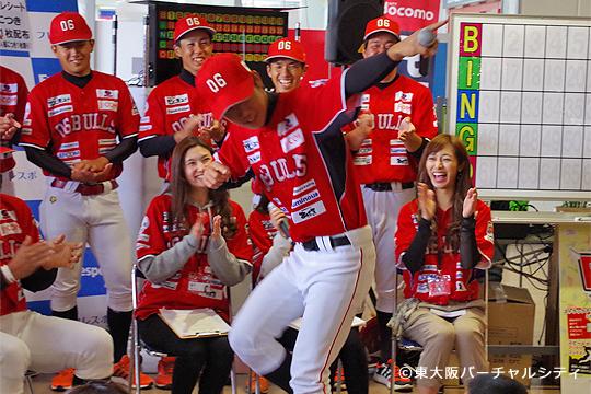 """J-Soulな男""大岩選手がランニングマンを披露。今年の役者に決定です!"