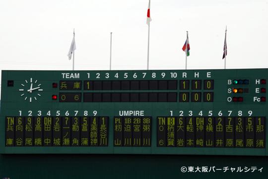 この日のスタメン(途中撮影バージョン)