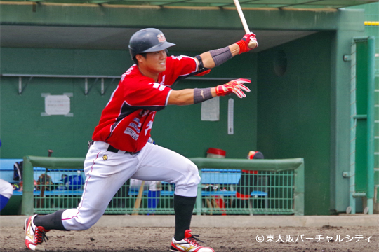 2安打の柄須賀、最も期待できる選手。登りつめろっ!
