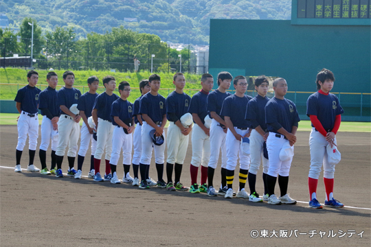 合同練習を行い本気で勝ちを狙った東大阪中学校準硬式野球部選抜