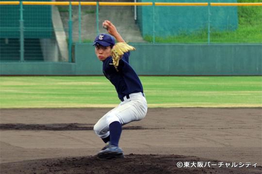 元気いっぱいの東大阪中学校準硬式野球部選抜