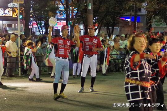 06BULLSの選手が今年も盆踊りに参加!