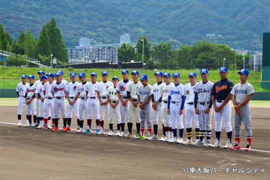 大阪府中学校準硬式野球部選抜メンバー