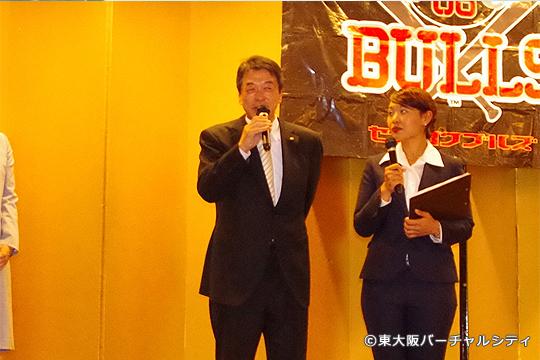 中西進泰 東大阪市議会議員 スポーツの振興に尽力されています