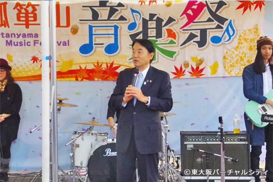 終盤には野田 東大阪市長も来場