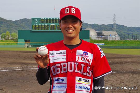 今シーズンのブルズ第1号は田井友人。このまま10月まで走り抜けっ!