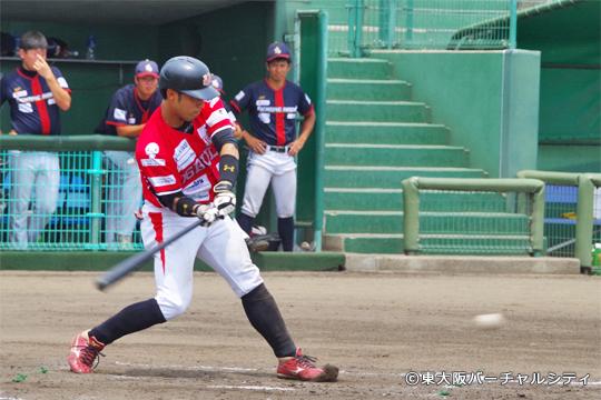 1安打1四球3盗塁2得点の田井、1番バッターの役目を果たす