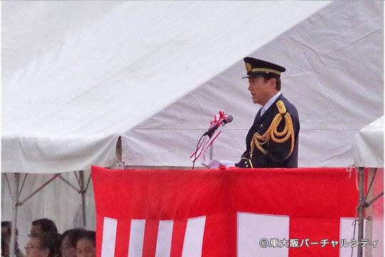 野田市長の式辞