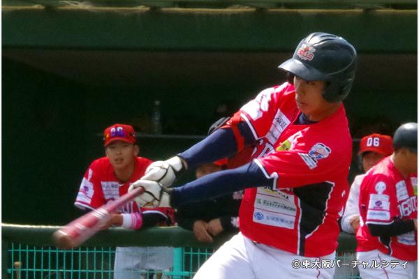 同じく新入団の和田。和田も2安打でアピール
