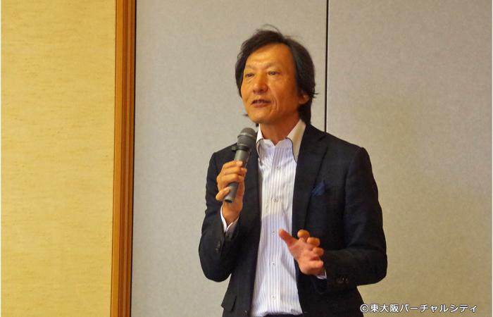 一般社団法人東大阪ツーリズム機構の代表理事である清水洋一郎さん