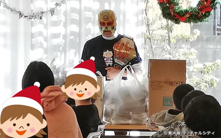 お預かりしたプレゼントも渡すことができました^^