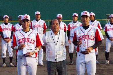 CS最優秀選手として西川と田井の両選手が選ばれました