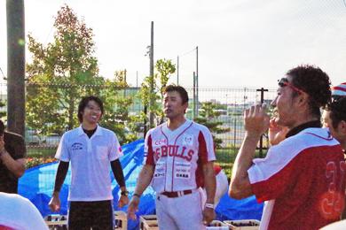 村上監督から選手へ 「10.19は野球の原点。今日は仰木さんも見にきてくれてます!」