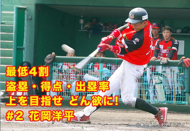 横を見ずに上を見て野球に邁進!手をのばせ!