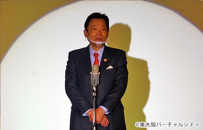 東大阪市の野田市長も来場され、ご挨拶