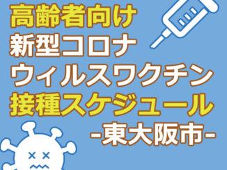 高齢者向け新型コロナウィルスワクチン接種スケジュール -東大阪市-